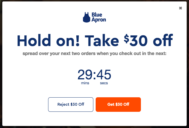 Call to Action Examples_Blue Apron